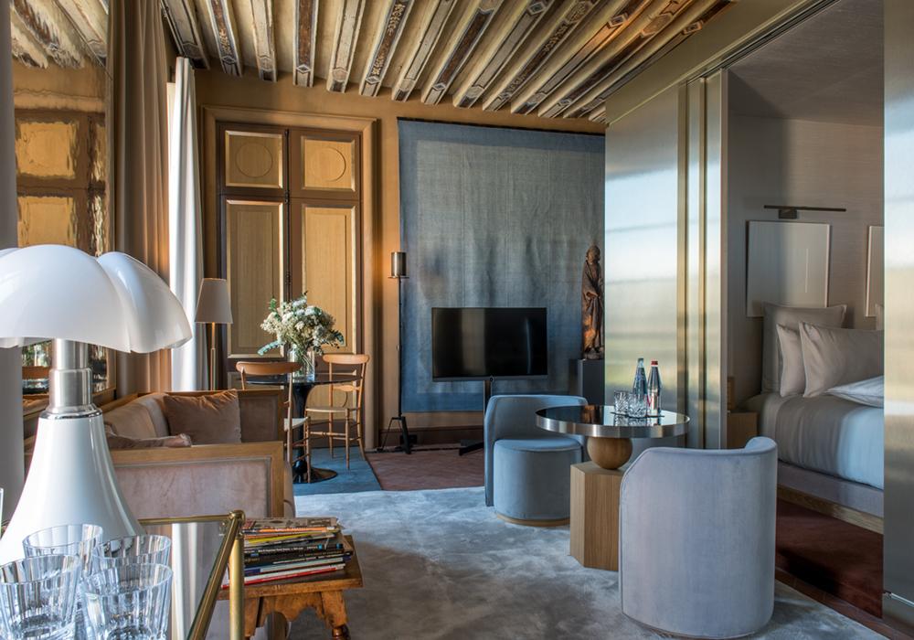 intérieur suite deluxe hotel 5 etoiles