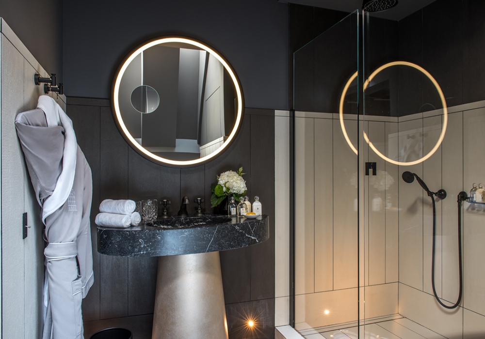 salle de bain chambre deluxe chic et design
