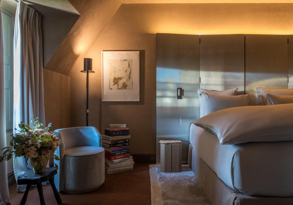 Junior suite hotel de luxe Marais
