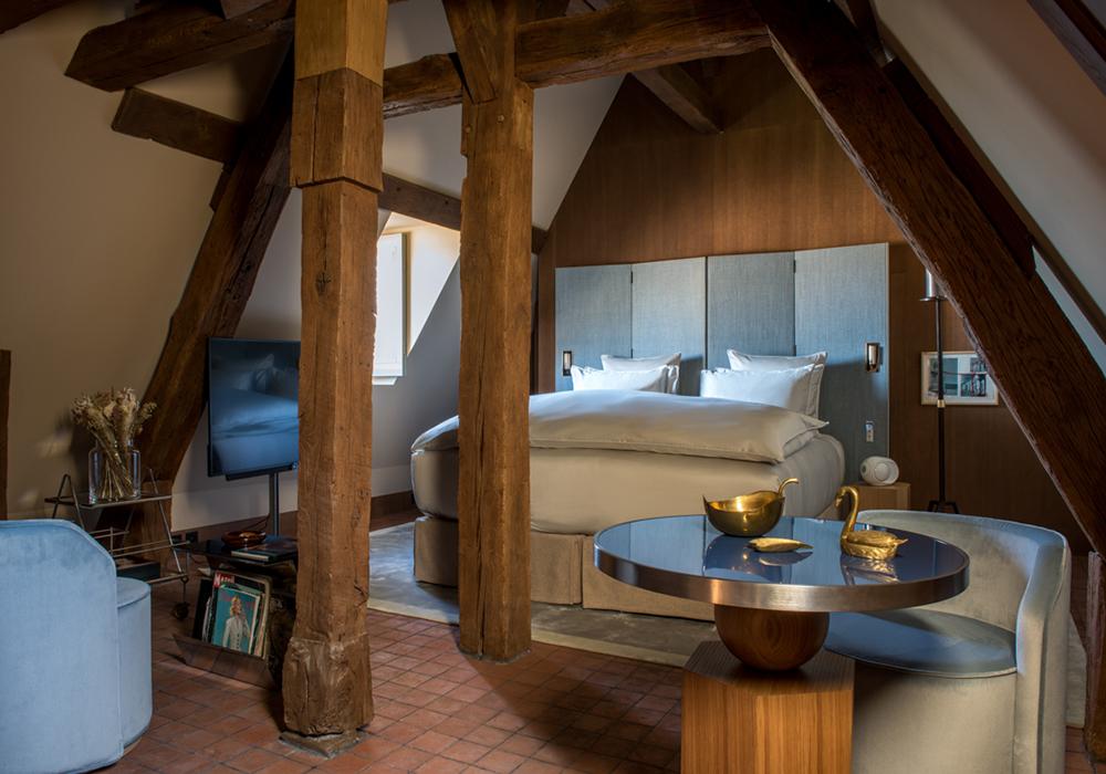 déco bois et chic, chambre superieure hotel 5 etoiles