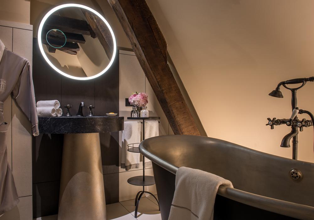 salle de bain chambre superieure hotel paris