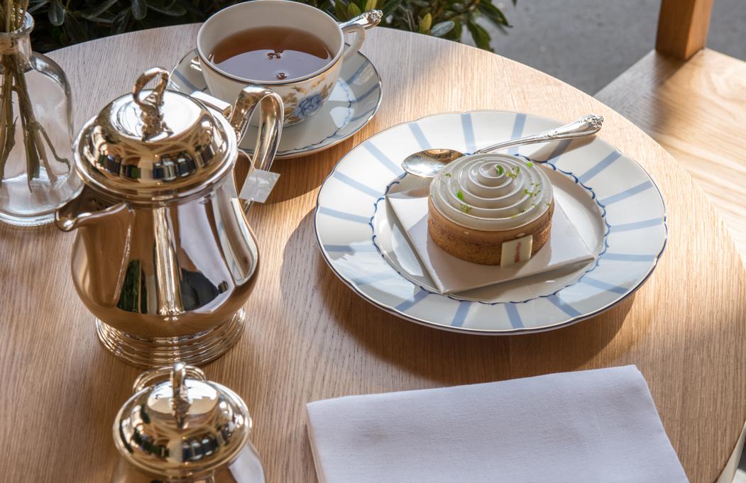 Salon de thé, hôtel de luxe