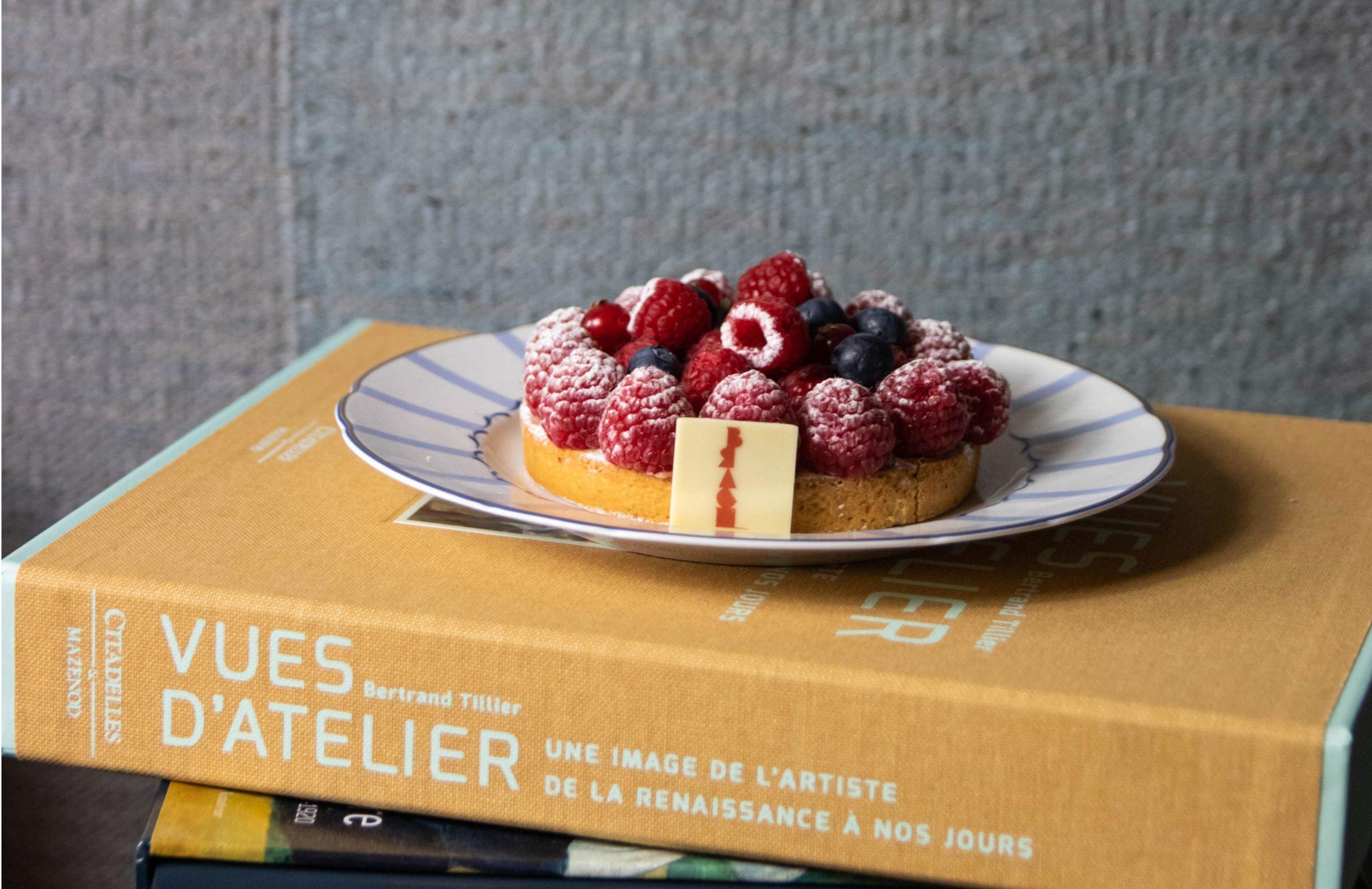 patisserie Yann Brys, salon de thé place des Vosges
