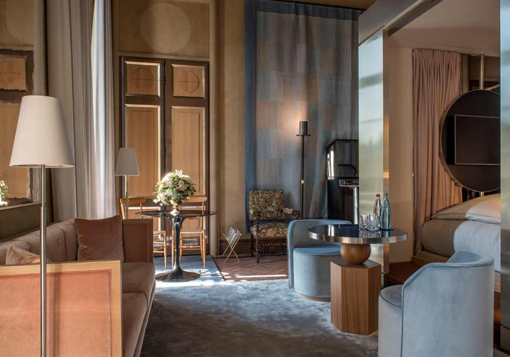 salon et interieur suite deluxe hotel 5 etoiles