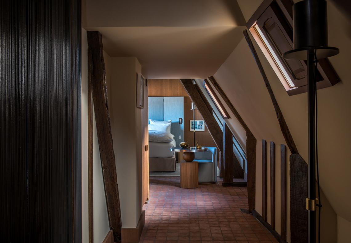 Chambre supérieure hotel de luxe Place des Vosges