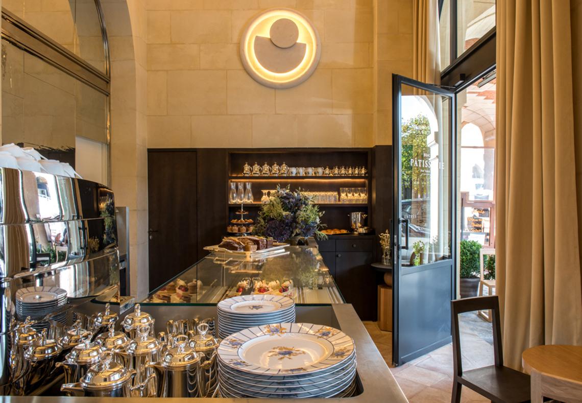 Salon de thé Yann Brys, Place des Vosges à Paris